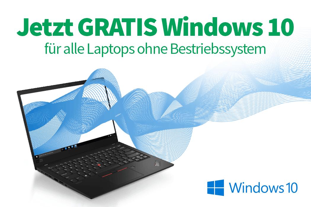 Semesterstart bei edustore: Brandneue Laptops mit gratis Windows 10 Pro